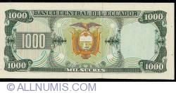 Imaginea #2 a 1000 Sucres 1988 (8. VI.) - Serie IZ