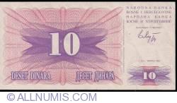 Imaginea #1 a 10 Dinara 1992 (1. VII.)