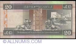 Image #2 of 20 Dollars 1996 (1. I.)