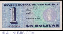 1 Bolivar 1989 (5. X.)
