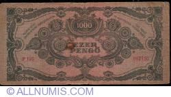 Imaginea #2 a 1000 Pengő 1945 (15. VII.)