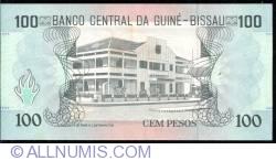 Image #2 of 100 Pesos 1990 (1. III.)