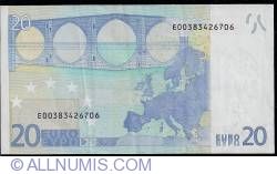 Imaginea #2 a 20 Euro 2002 E (Slovacia)