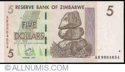 Imaginea #1 a 5 Dollars 2007