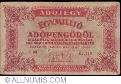 Imaginea #1 a 1000000 (Egymillio) Adópengö 1946