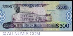 Imaginea #2 a 500 Dollars ND (2002)