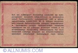 Imaginea #2 a 1000000 (Egymillio) Adópengö 1946