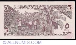 Image #2 of 5 Shilin=5 Shillings 1987