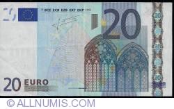 Imaginea #1 a 20 Euro 2002 P (Olanda)