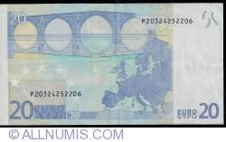 Imaginea #2 a 20 Euro 2002 P (Olanda)