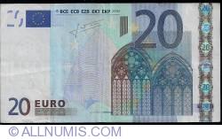Imaginea #1 a 20 Euro 2002 - U (Franţa)