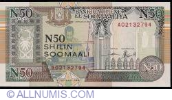 Image #1 of 50 N Shilin = 50 N Shillings 1991