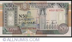 Imaginea #1 a 50 N Shilin = 50 N Shillings 1991