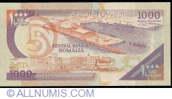 Image #2 of 1000 Shilin=1000 Shillings 1990