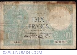 Imaginea #1 a 10 Franci 1940 (28. XI.)