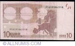 Image #2 of 10 Euro 2002 P (Netherlands)