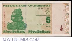 Imaginea #1 a 5 Dolari 2009