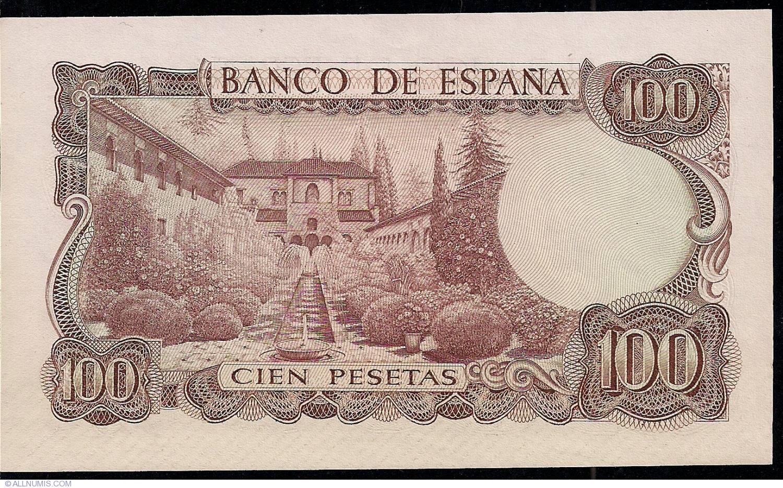 83 Circulated Banknotes Spain  100 Pesetas 25-04-1931 VF  P