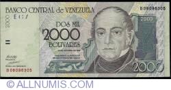 Imaginea #1 a 2000 Bolivares 1998 (29. X.)