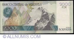 Imaginea #2 a 2000 Bolivares 1998 (29. X.)