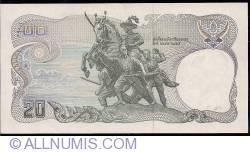 Image #2 of 20 Baht BE 2524 (1981) - signatures Tarin Nimmahemin / Chatumonkol Sonakul (72)