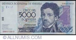 5000 Bolivares 2004 (25. V.)