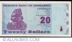 Imaginea #1 a 20 Dolari 2009