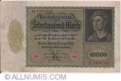 Image #1 of 10 000 Mark 1922 (19. I.) - Serie K