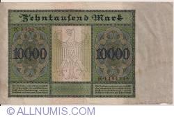 Image #2 of 10 000 Mark 1922 (19. I.) - Serie K