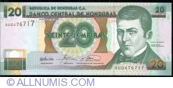 Image #1 of 20 Lempiras 2003