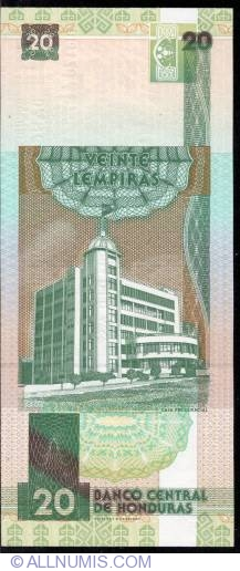Image #2 of 20 Lempiras 2003