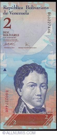Imaginea #1 a 2 Bolivares 2007 (20. III.)