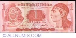 Image #1 of 1 Lempira 2000 (14. XII.)