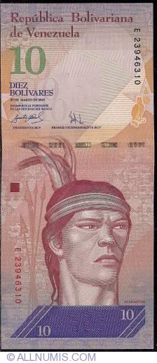 Imaginea #1 a 10 Bolivares 2007 (20. III.)