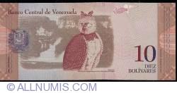 Imaginea #2 a 10 Bolivares 2007 (20. III.)