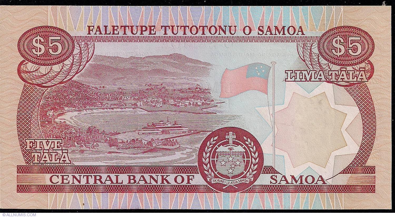 2002-2006 2;5;10;20;50;100 Tala SPECIMEN: Samoa Banknotes Set ND UNC