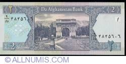 Image #2 of 2 Afghanis 2002 (SH 1381 - ١٣٨١)