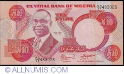 Imaginea #1 a 10 Naira ND (1999)