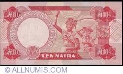 Imaginea #2 a 10 Naira ND (1999)