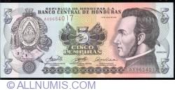 Image #1 of 5 Lempiras 2006 (13. VII.)