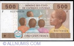 Image #1 of 500 francs 2002 F, sign Jean Félix Mamalepot