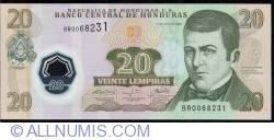 Image #1 of 20 Lempiras 2008