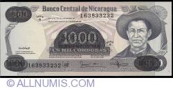 Image #1 of 500 000 Cordobas on 1000 Cordobas  ND (1987)