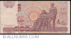 Image #2 of 100 Baht ND(1994 - BE2537) - signatures Tarin Nimmahemin/ Vigit Supinit (63)