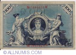 Image #2 of 100 Mark 1908 (7. II.) - Q