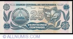 Image #2 of 25 Centavos ND (1991) - signature 1