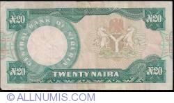 Imaginea #2 a 20 Naira ND (2000)