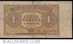 Imaginea #1 a 1 Koruna 1953