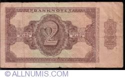 Image #2 of 2 Deutsche Mark 1948 7 digit serial