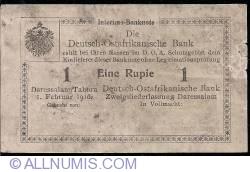 Image #1 of 1 Rupie 1916 letter R3